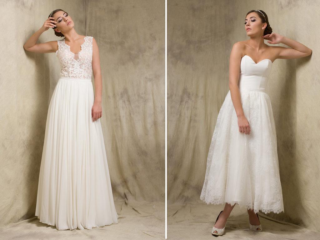 Rock & Oberteil - Zweiteilige Brautkleider - LAFANTA