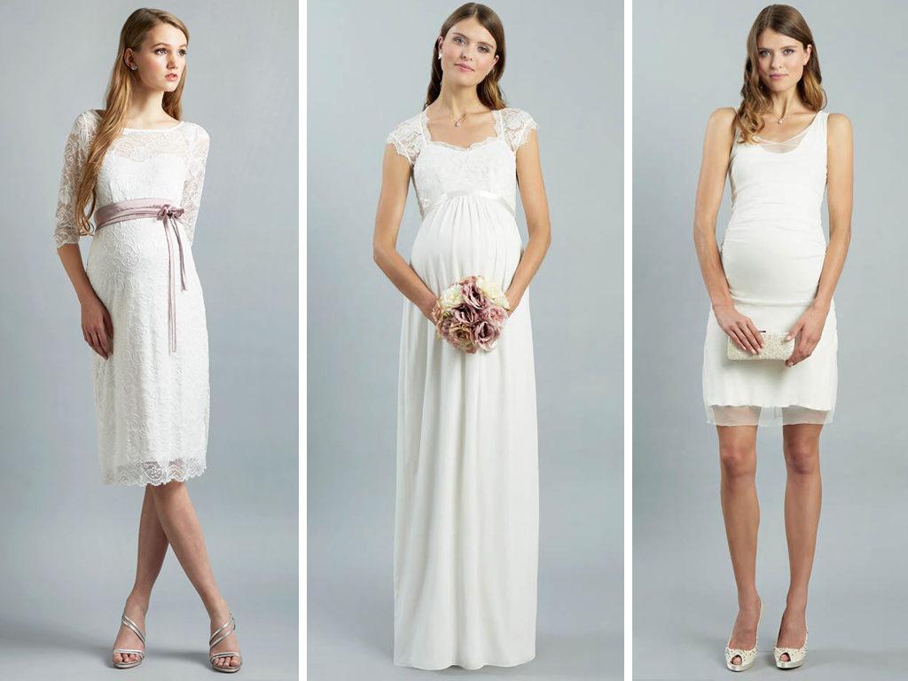 Unzählige wunderschöne Brautkleider für Schwangere - LAFANTA